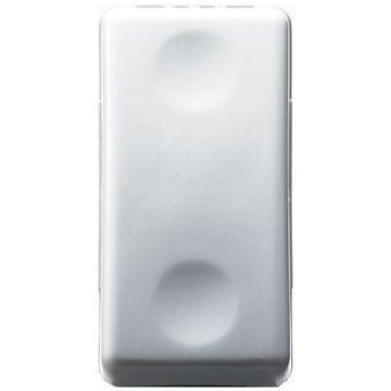 Picture of Intrerupator modular cu revenire Gewiss, 1 Modul 10A, gama System, alb, GW20510