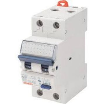 Picture of Disjunctor MCB 1P+N C20 4,5KA 2 module, Gewiss, GW92129