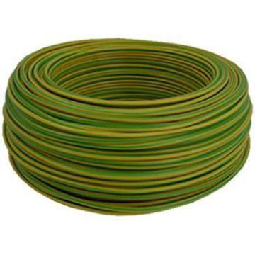Poza cu Conductor flexibil MYF 16 verde-galben