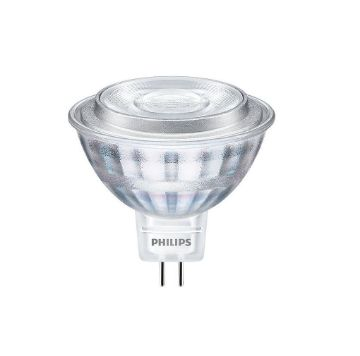 Poza cu Bec LED Philips CorePro 7W GU5.3 MR16 lumina calda PS03466