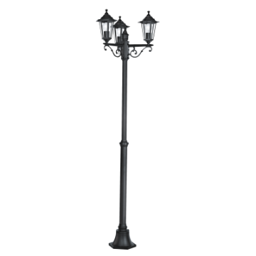 Picture of Stalp exterior Eglo Laterna 4 Black 22145