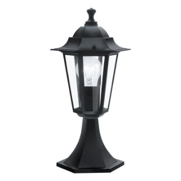 Picture of Stalp exterior Eglo Laterna 4 Black 22472