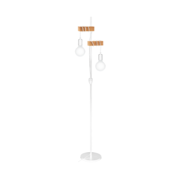 Picture of Lampadar Eglo Townshend White-Brown 33167