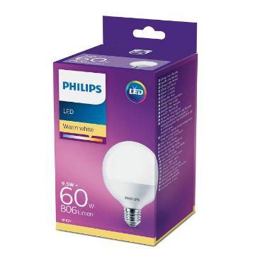 Picture of Bec LED Philips 9.5W E27 G93 2700K lumina calda PS03366