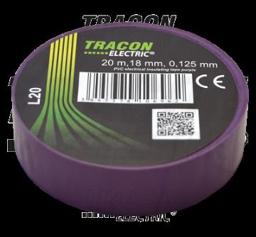 Poza cu Banda izolatoare Tracon 20M violet