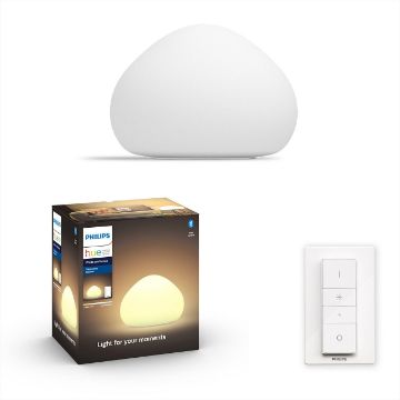 Picture of Veioza Philips Hue Wellner BT White Ambiance PC02151