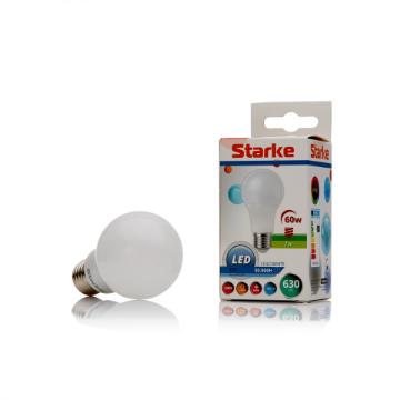 Poza cu Bec LED Starke 7W A60 E27 630LM lumina rece ST00781