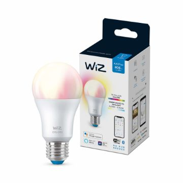 Picture of Bec LED WiZ smart WIFI Bluetooth E27 806lm RGB