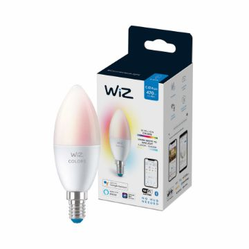 Picture of Bec LED WiZ smart WIFI Bluetooth E14 470lm RGB