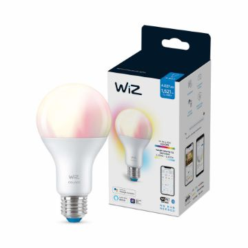 Picture of Bec LED WiZ smart WIFI Bluetooth E27 1521lm A67 RGB