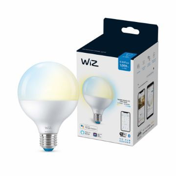 Picture of Bec LED WiZ smart WIFI Bluetooth E27 1055lm G95 Tunable White