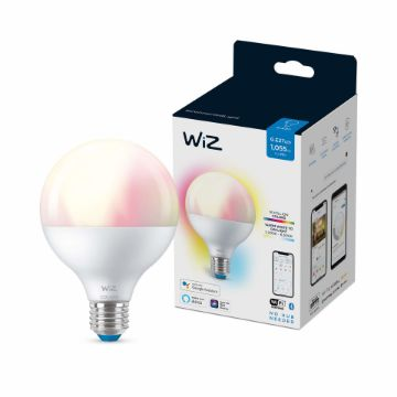 Picture of Bec LED WiZ smart WIFI Bluetooth E27 G95 1055lm RGB