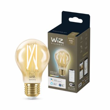 Picture of Bec LED WiZ smart WIFI E27 A60 Filament Amber 640lm Tunable White