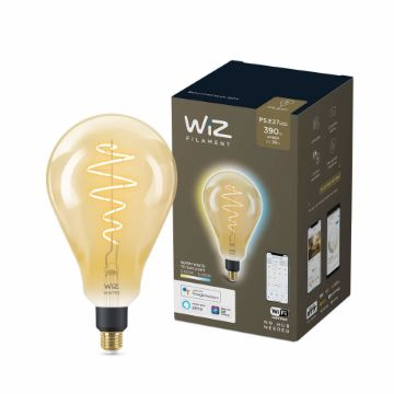 Picture of Bec LED WiZ smart WIFI E27 PS160 Filament Amber 390lm Tunable White