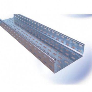 Poza cu Jgheab metalic Adeleq 300x60x0.75mm 12-604