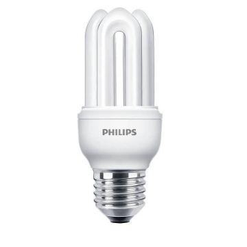 Poza cu Bec economic Philips Genie, forma stick, 11W, E27, lumina calda, 600LM