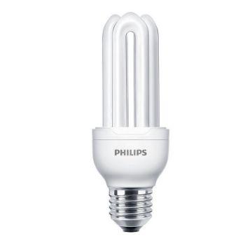 Poza cu Bec economic Philips Genie, forma stick, 18W, E27, lumina rece, 1040LM