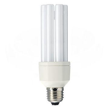 Poza cu Bec economic stick Philips Master PL-E, 23W, E27, lumina calda, 1500LM