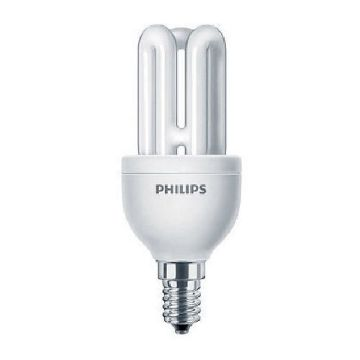 Picture of Bec economic Philips MST Genie forma stick 8W, E14, lumina rece, 425LM