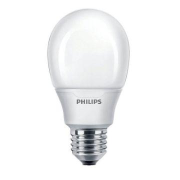 Picture of Bec economic Philips Softone, forma glob, 11W, E27, lumina calda, 580LM