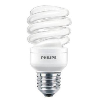 Poza cu Bec economic spirala Philips Economy Twister 15W, E27, lumina calda, 970LM
