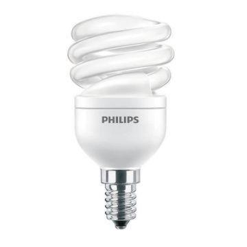 Picture of Bec economic spirala Philips Economy Twister 8W, E14, lumina calda, 400LM