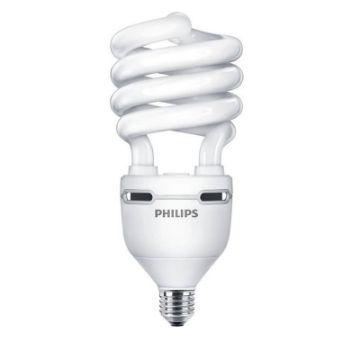 Poza cu Bec economic spirala Philips Tornado High  45W, E27, lumina calda, 3080LM