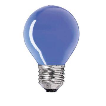 Picture of Bec incandescent Philips Party 15W E27 P45 culoare albastra