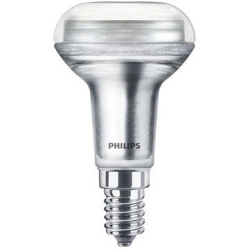 Poza cu Bec LED Philips CorePro 1.7W E14 R50 lumina calda PS03485