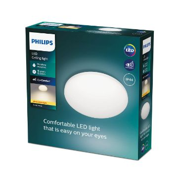 Picture of Plafoniera LED Philips CL251 White 10W 980LM lumina calda PC02299