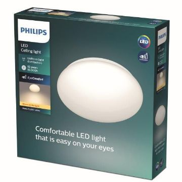 Picture of Plafoniera LED Philips CL200 White 10W 1000LM lumina calda PC02046