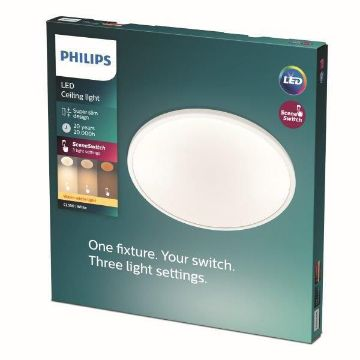 Picture of Plafoniera LED Philips CL550 15W 1300LM lumina calda PC02305