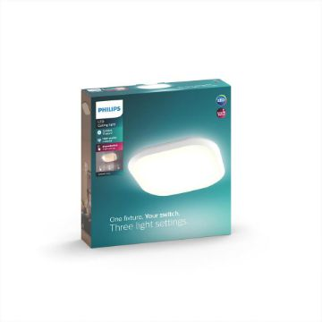 Picture of Plafoniera LED Philips Cavanal white 18W 1500LM lumina calda PC02308