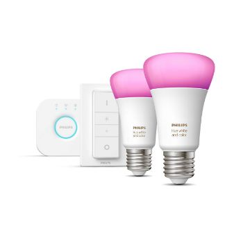 Poza cu Starter Kit Philips Hue BT White and Color Ambiance PS03811