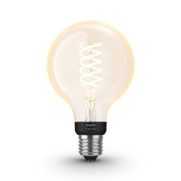Poza cu Bec LED Phlips Hue Vintage BT G93 E27 White PS03777