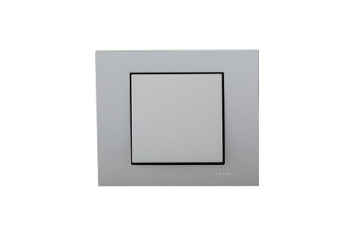 Picture of Intrerupator Ovivo Grano ST Metalic argintiu OV00101